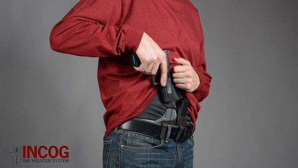 Hsp incog iwb holster system
